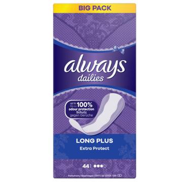 Always Dailies Extra Protect Long Plus Wkładki Higieniczne (44 szt.)