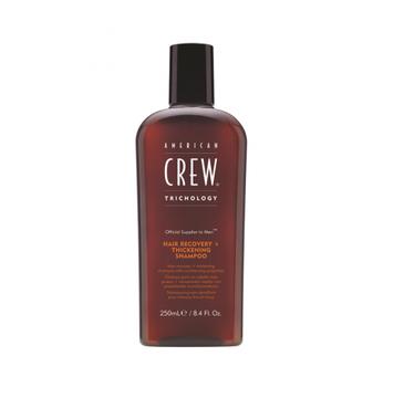 American Crew Hair Recovery + Thickening Shampoo szampon przeciw wypadaniu włosów, nadający objętość 250ml