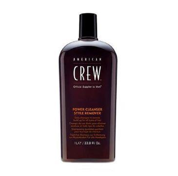 American Crew Power Cleanser Style Remover szampon do włosów 1000ml