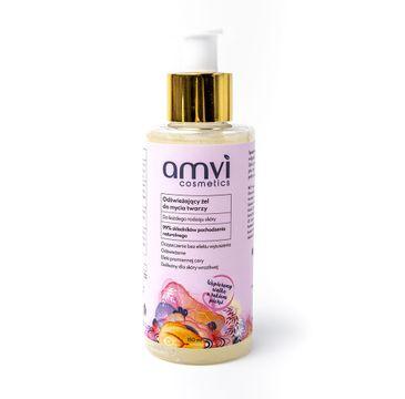Amvi Cosmetics 鈥� Od艣wie偶aj膮cy 偶el do mycia twarzy do ka偶dego rodzaju sk贸ry (150 ml)