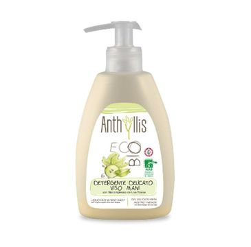 Anthyllis Detergente Delicato Viso Mani płyn do mycia rąk i twarzy z fitokompleksem z czerwonych winogron 300ml