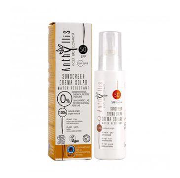 Anthyllis Eco Sunscreen SPF50 krem przeciwsłoneczny 100ml