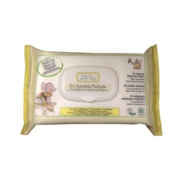 Anthyllis Salviette Delicate chusteczki do pielęgnacji skóry dziecka Rumianek i Nagietek 60szt