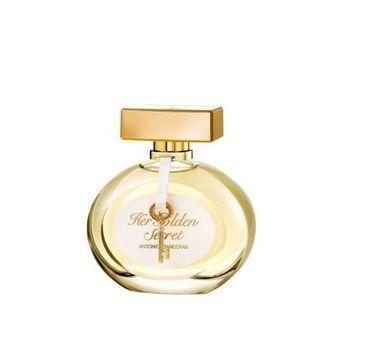 Antonio Banderas Her Golden Secret woda toaletowa spray 80ml