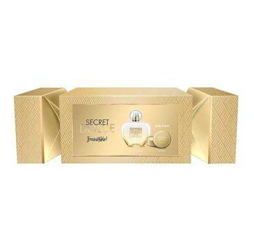 Antonio Banderas Her Golden Secret zestaw woda toaletowa spray 80ml + balsam do ust 15g (1 szt.)