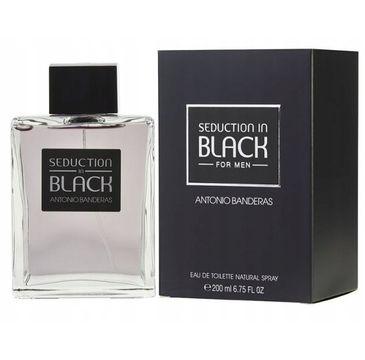 Antonio Banderas Seduction in Black For Men woda toaletowa 200ml