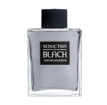 Antonio Banderas Seduction in Black For Men woda toaletowa spray 200ml