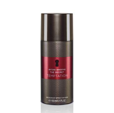 Antonio Banderas The Secret Temptation dezodorant spray (150 ml)