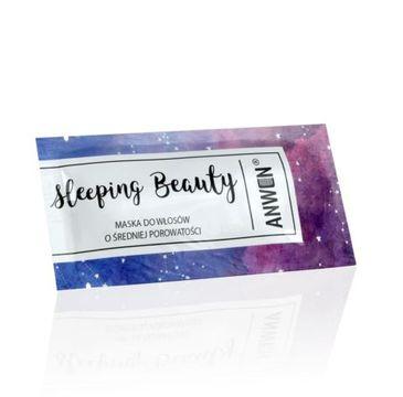 Anwen Sleeping Beauty (maska do włosów o średniej porowatości w saszetce 10 ml)