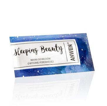 Anwen – maska do włosów o wysokiej porowatości Sleeping Beauty (10 ml)