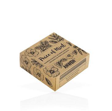 Anwen Peace of Mint szampon w kostce do skóry normalnej i skłonnej do przetłuszczania się 75g + puszka (1 szt.)