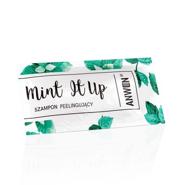 Anwen – szampon peelingujący Mint It Up (10 ml)