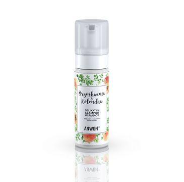 Anwen – szampon w piance Brzoskwinia i Kolendra (200 ml)