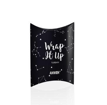 Anwen Wrape It Up – turban do włosów granatowy (1 szt.)