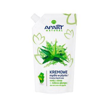 Apart Natural Kremowe mydło w płynie Woda z Aloesu i Roślinna Gliceryna Refill 400ml