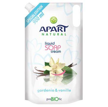 Apart Natural Prebiotic Refill kremowe mydło w płynie Gardenia & Vanille 900ml