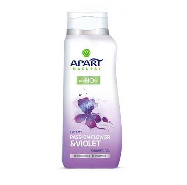 Apart Natural Prebiotic żel pod prysznic Passion Flower & Violet 400ml