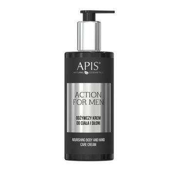 APIS Action For Men odżywczy krem do ciała i dłoni (300 ml)
