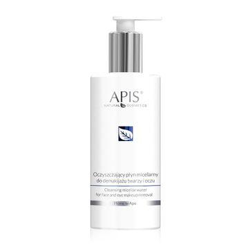 APIS Cleansing Micellar Water oczyszczający płyn micelarny do demakijażu twarzy i oczu (300 ml)