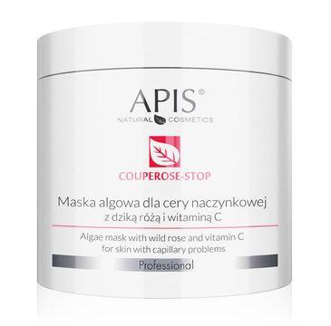 Apis Couperose-Stop Algae Mask maska algowa dla cery naczynkowej z dziką różą i witaminą C (200 g)