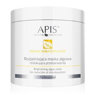 Apis Discolouration-Stop Brightening Algae Mask rozjaśniająca maska algowa redukująca przebarwienia (250 g)