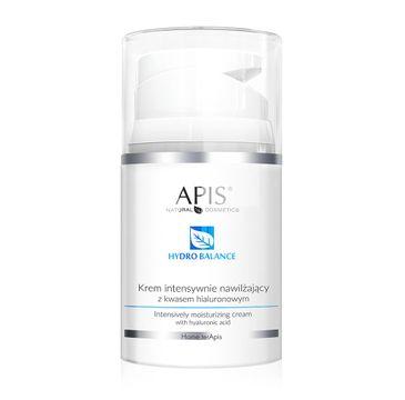 Apis Hydro Balance Intensively Moisturizing Cream krem intensywnie nawilżający z kwasem hialuronowym (50 ml)