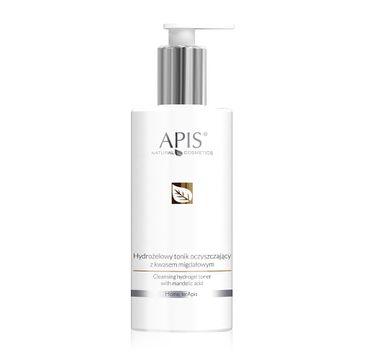 APIS Hydrożelowy tonik oczyszczający z kwasem migdałowym (300 ml)