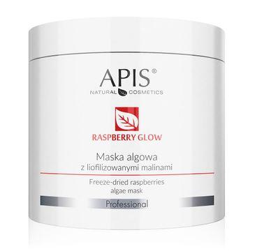 APIS Raspberry Glow Algae Mask maska algowa z liofilizowanymi malinami (200 g)