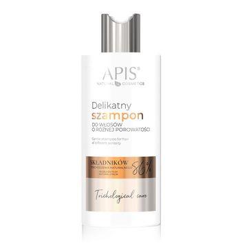 Apis Trichological Care delikatny szampon do włosów o różnej porowatości (300 ml)