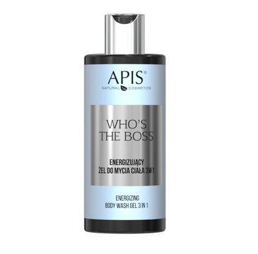 APIS Who's the Boss energizujący żel do mycia ciała 3w1 (300 ml)