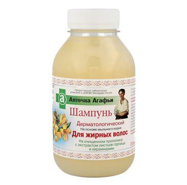 Apteczka Babci Agafii szampon do włosów przetłuszczających się dermatologiczny 300 ml