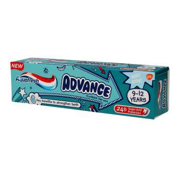 Aquafresh Advance pasta dla dzieci 9-12 lat 75 ml