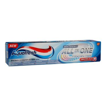 Aquafresh All In One Protection Pasta do zębów Whitening 100 ml
