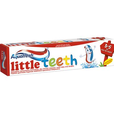 Aquafresh Little Teeth pasta dla dzieci 3-5 lat 50 ml
