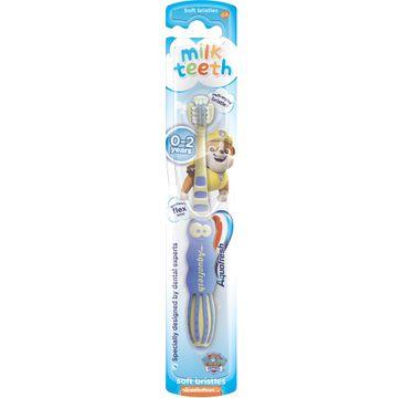 Aquafresh – Milk Teeth szczoteczka do zębów dla dzieci 0-2 lat Soft Psi Patrol (1 szt.)