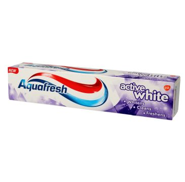 Aquafresh pasta do zębów Active White 3w1 125 ml