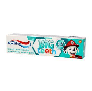 Aquafresh – pasta Kids Big Teeth Psi Patrol 6-8 lat (50 ml)