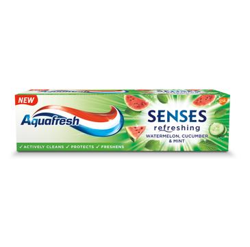 Aquafresh Pasta Senses refreshing Arbuz Ogórek & Mięta (75 ml)