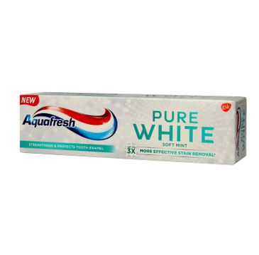 Aquafresh Pure White Pasta do zębów Soft Mint 75 ml