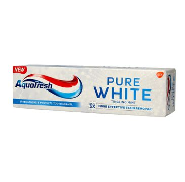 Aquafresh Pure White Pasta do zębów Tingling Mint 75 ml
