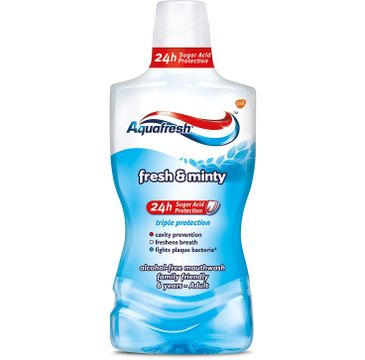 Aquafresh Triple Protection Extra Fresh &  Minty płyn do ust  500 ml