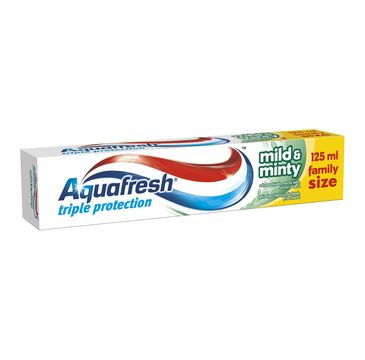Aquafresh Triple Protection Mild & Minty pasta do zębów 125 ml