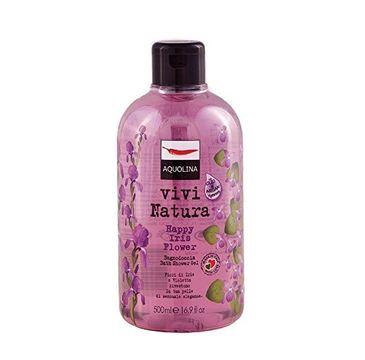Aquolina Bagno Doccia Vivi Natura Bath & Shower Gel płyn do kąpieli i pod prysznic Happy Iris Flower 500ml