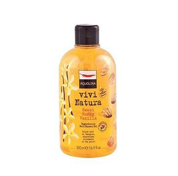 Aquolina Bagno Doccia Vivi Natura Bath & Shower Gel płyn do kąpieli i pod prysznic Sweet Honey Vanilla 500ml