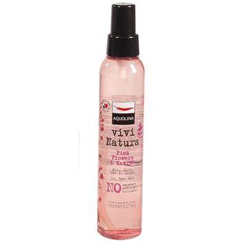 Aquolina Vivi Natura Dry Body Oil olejek do ciała Różowe Kwiaty i Masło Karite 150ml
