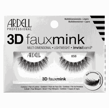 Ardell – rzęsy Faux Mink 3D nr 858