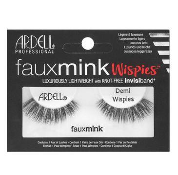 Ardell Faux Mink – sztuczne rzęsy na pasku Demi Wispies
