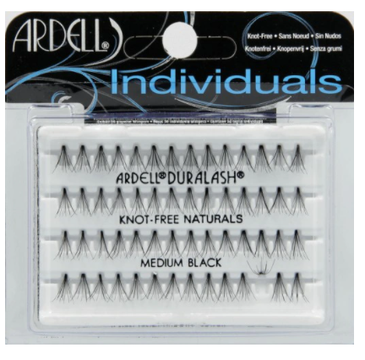Ardell – Rzęsy w kępkach Medium Black (56 szt.)