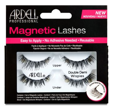 Ardell Magnetic Lashes Double Demi Wispies rzęsy magnetyczne na pasku (2 pary)