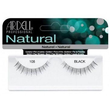 Ardell Natural 108 1 para sztucznych rzęs Black